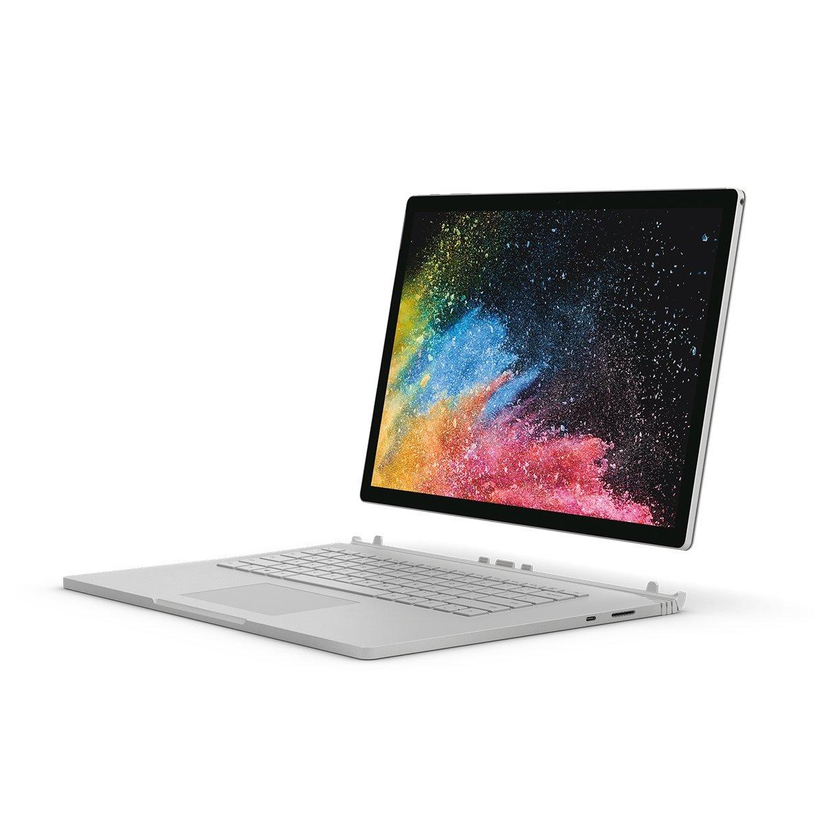 mejores portatiles para edicion video - Microsoft Surface book2